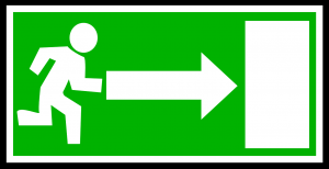 salida de evacuación