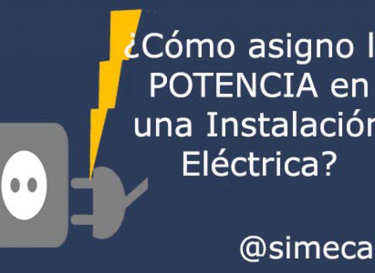 Potencia Instalación Eléctrica