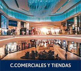 sector centros comerciales y tiendas