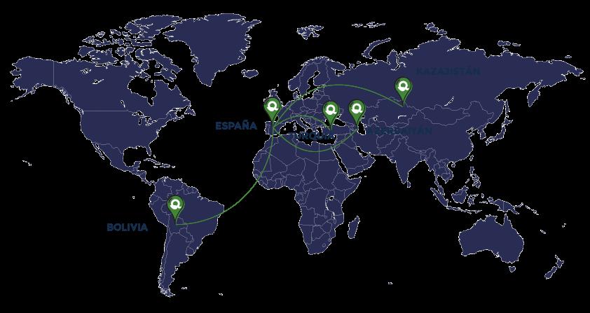 Mapa Simecal