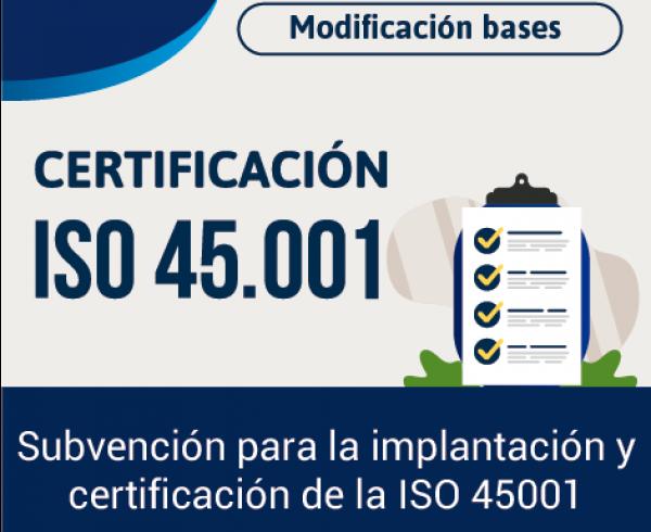 Certificación ISO 45.001